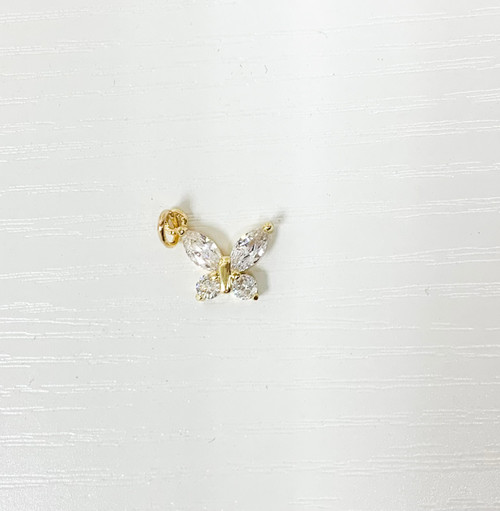 Butterfly Clear Charm