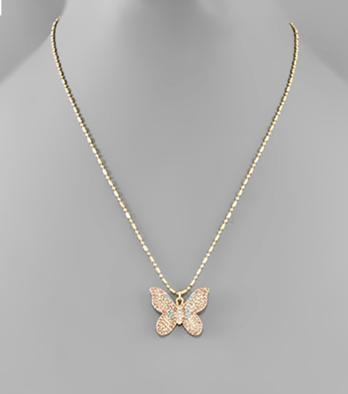 Get Your Wings Necklace