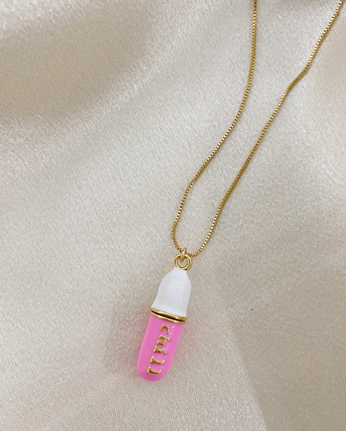 Chill Pill Necklace