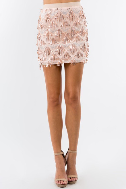 Stop And Remember Me Skirt