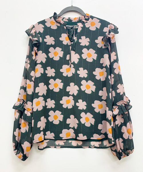 Latest Scoop Floral Top