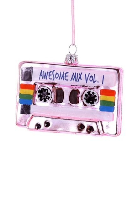 Awesome Mix Tape Pink Ornament