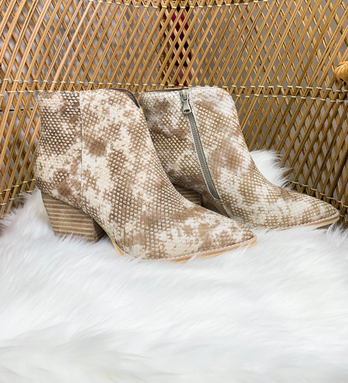 Cassidy Snake Booties