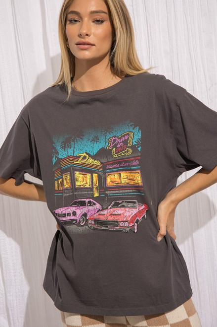 Diner Graphic Tee