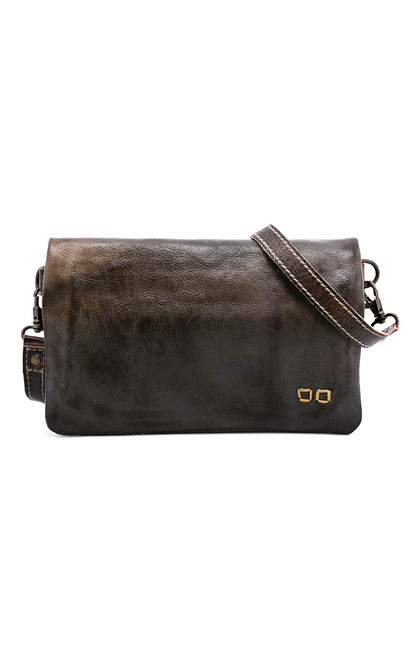 Cadence Taupe Rustic Convertible Clutch