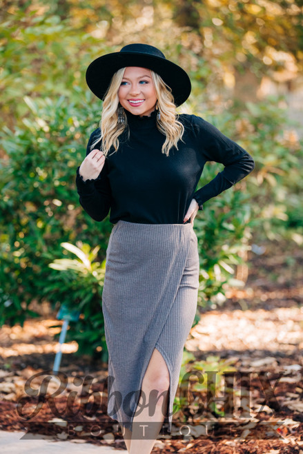 Never Disappointed Midi Skirt