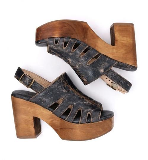 Fontella Black Lux Heel