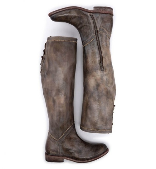 Manchester S Taupe Rustic Mason Boot