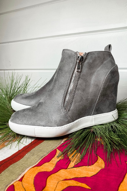 Payton Grey Wedge