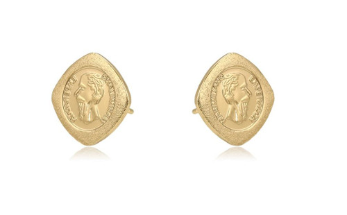 Helena Coin Studs