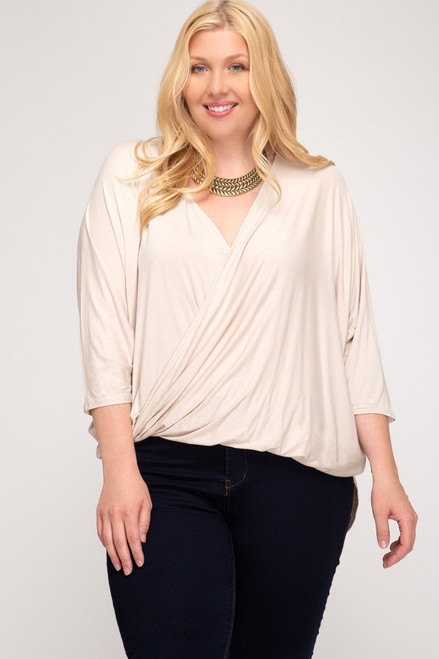 Look For This Light Taupe Top