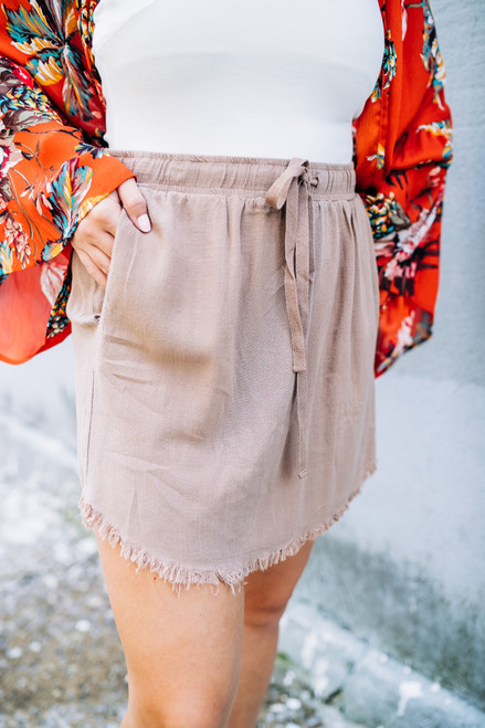 It's A Win Latte Skirt