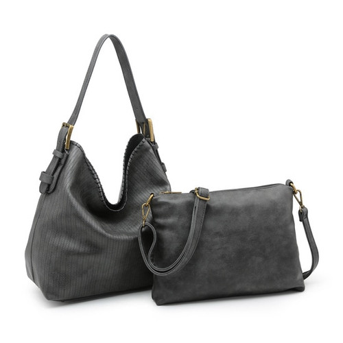 It's Just Me 2-in-1 Black Handbag