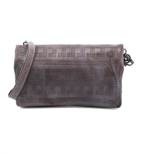 Bayshore Grey Rustic Convertible Clutch