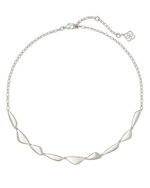 Kira Collar Necklace In Silver