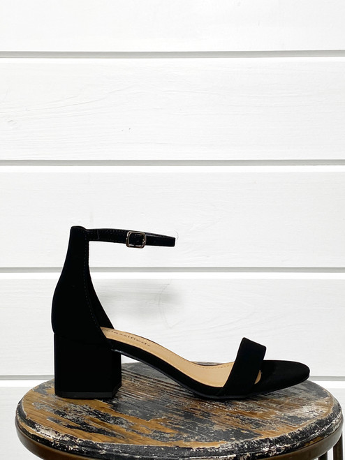 Weekend Black Dress Sandal