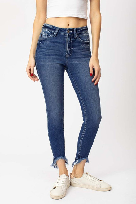 Dahna High Rise Ankle Skinny
