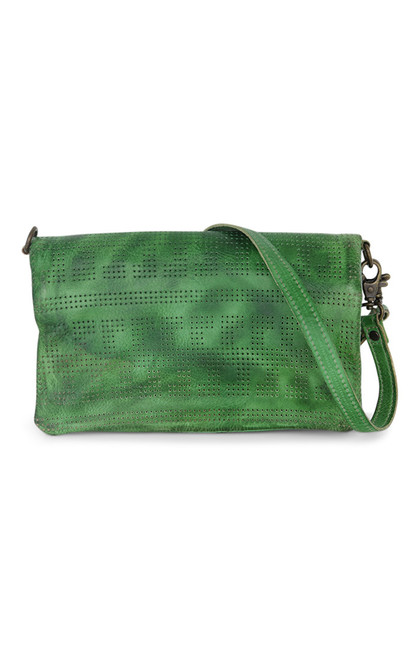 Bayshore Mint Rustic Convertible Clutch