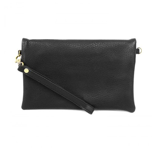 Kate Black Crossbody Clutch
