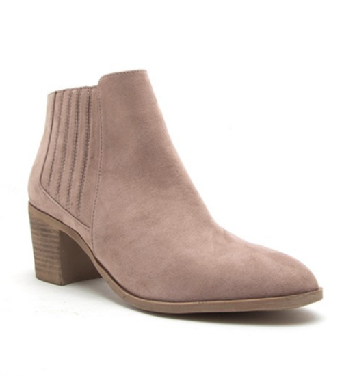 Chelsea Taupe Bootie