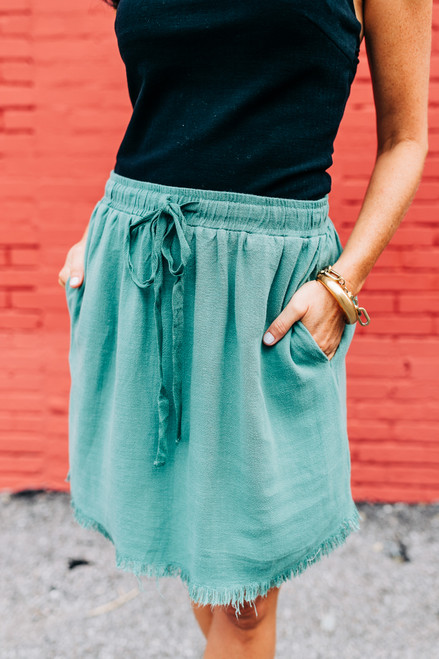 It's A Win Lagoon Skirt