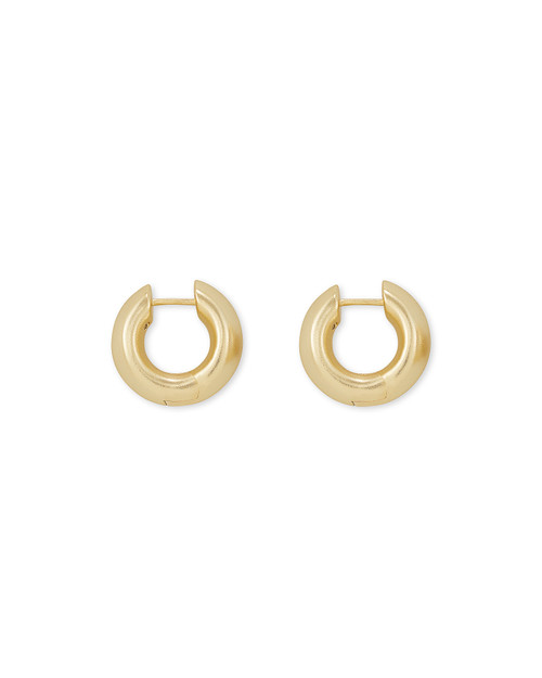 Mikki Huggie Earrings In Gold