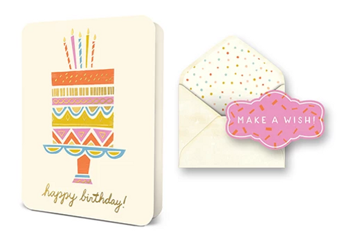 Cake on a Plate Card Set