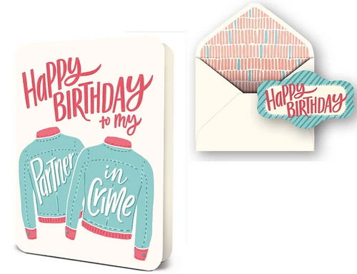 HB Partner in Crime Card Set