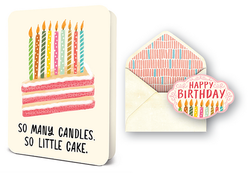 So Many Candles Card Set