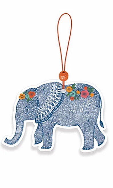 Boho Elephant Car Air Freshener