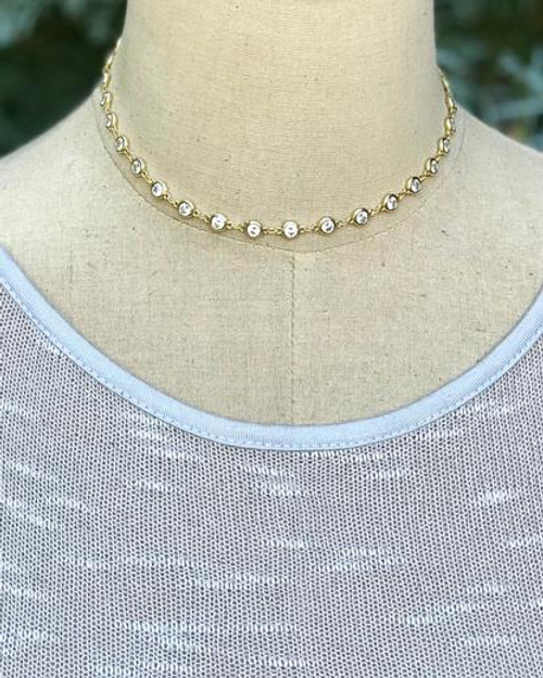 Looking Glass Choker Necklace