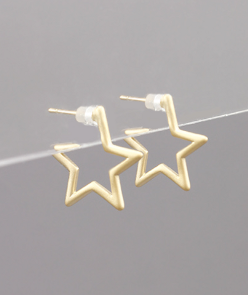 Hollywood Gold Studs