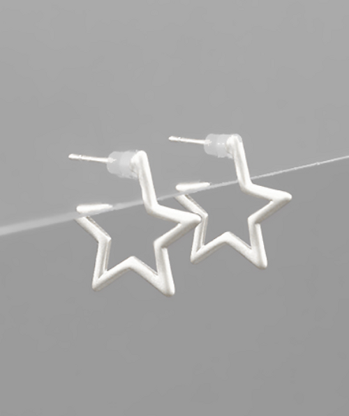 Hollywood Silver Studs