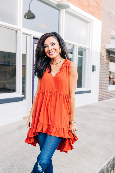 Have Your Way Tunic Top