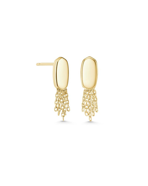 Deanna Stud Earrings In Gold