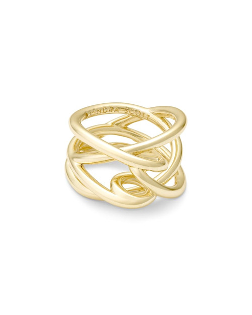 Myles Gold Band Ring