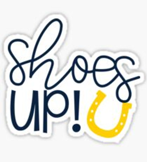 Shoes Up Sticker