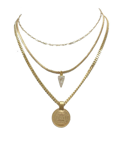 Queen 3-Layer Necklace