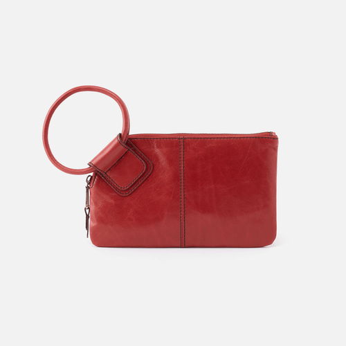 Sable Brick Wristlet Clutch