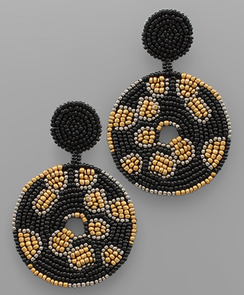 Right Round Earrings