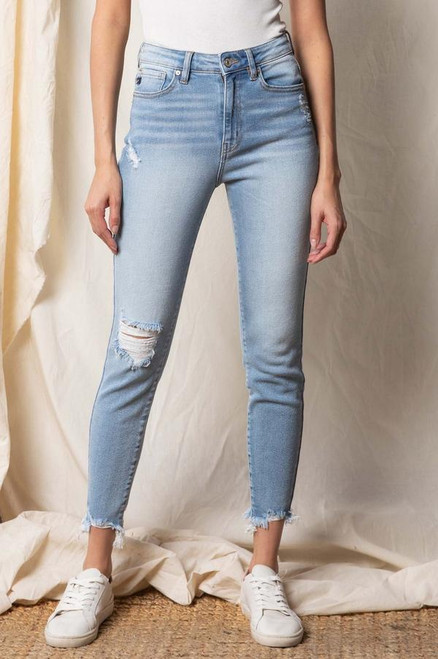 Kaly High Rise Ankle Skinny
