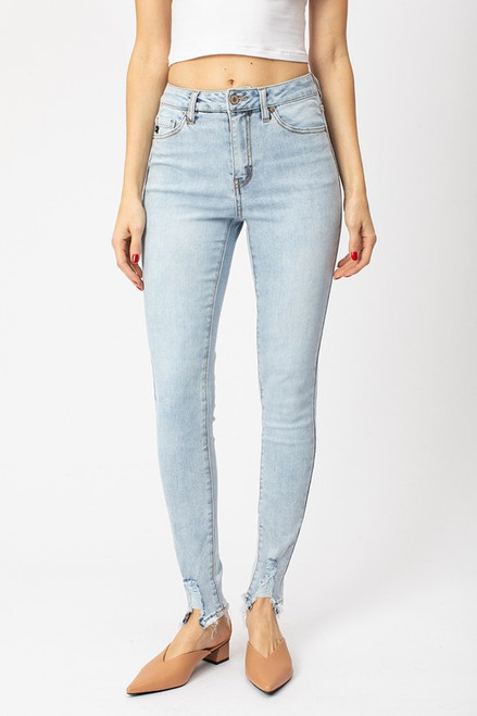 Llana Mid Rise Ankle Skinny