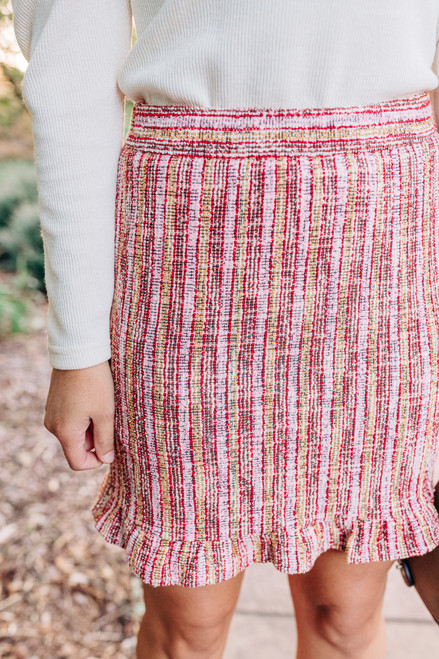 All You Tweed Is Love Skirt