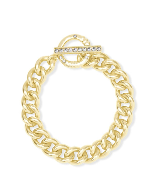 Whitley Chain Bracelet In Gold