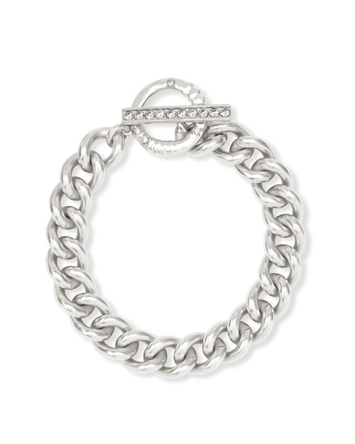 Whitley Chain Bracelet In Silver