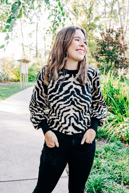 Stripe Revival Sweater