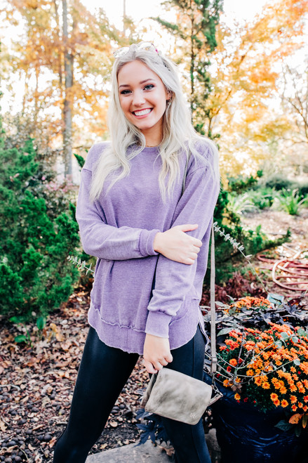 All the Love You Need Purple Top