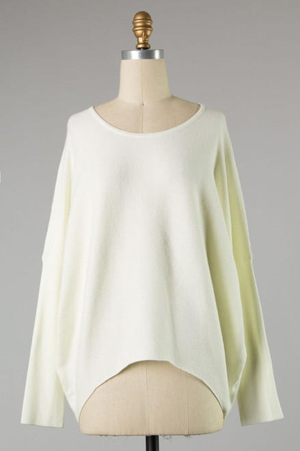 This Is The Way Cream Sweater