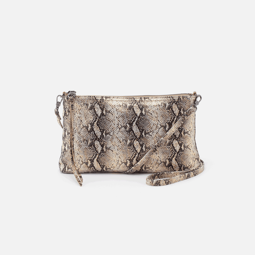 Darcy Glam Snake Convertible Crossbody