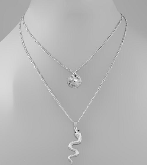 Charmed Snake  Silver Stack